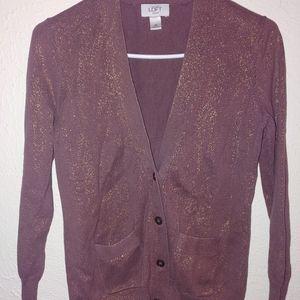 Loft women's SP glitter sweater